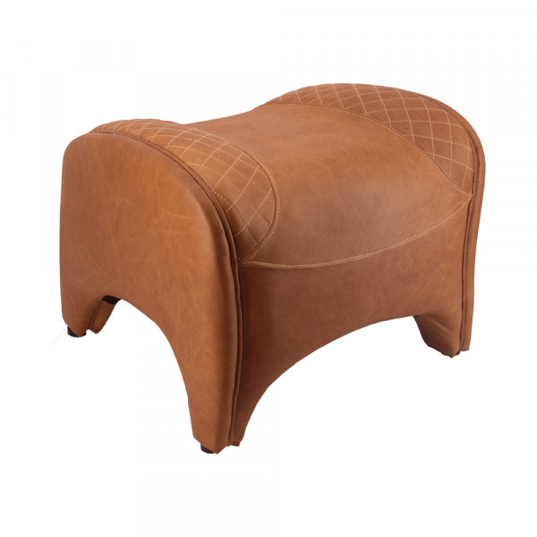 Fußhocker Whitehorse Columbia Brown