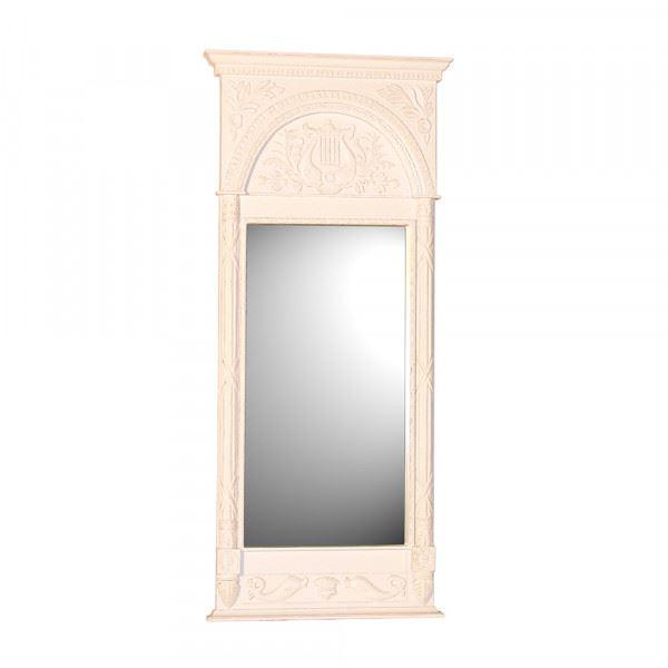 Wandspiegel / Spiegel Viola in weiß