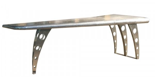 Schreibtisch Wing Aluminium