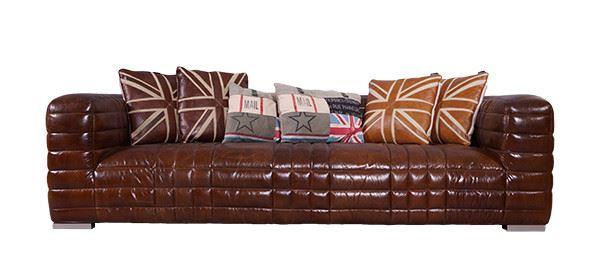 Designsofa Birsay 3-Sitzer Vintage-Leder