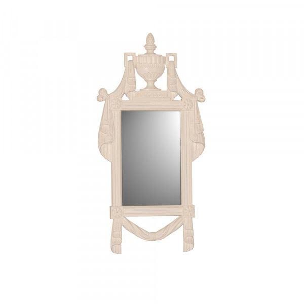 Standspiegel / Spiegel Mary in weiß
