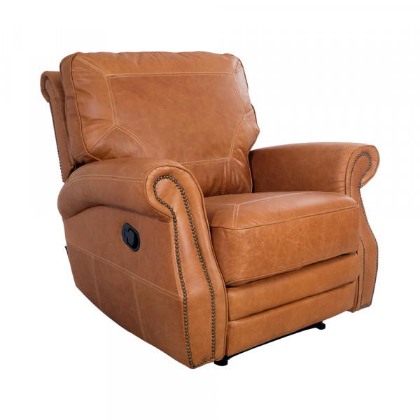 Relaxsessel Airchair Funktionsessel Leder Columbia Brown