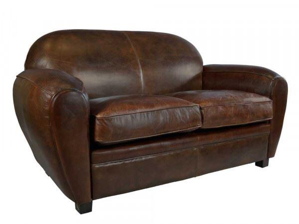 Clubsofa Art Deco 2-Sitzer