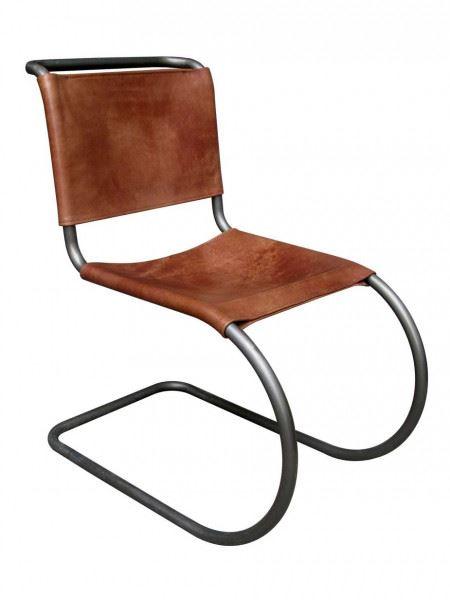 Enid Freischwinger Sessel Vintage Leder Möbel