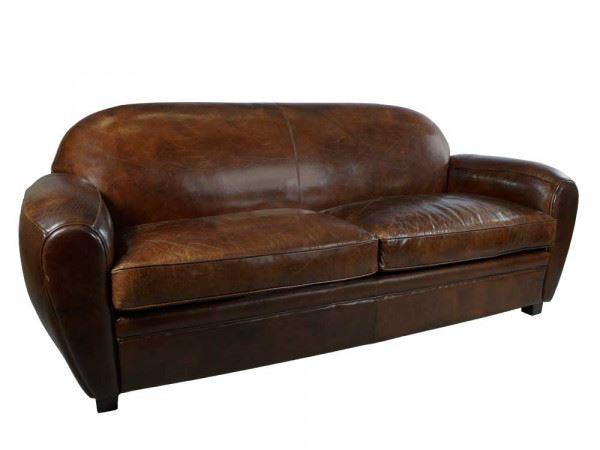 Clubsofa Art Deco 3-Sitzer