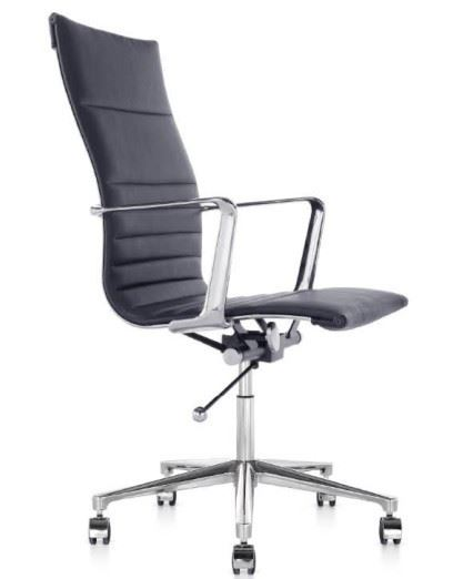 Der Bürostuhl Harmony in schwarz