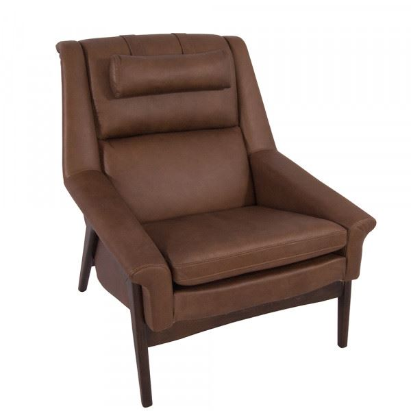 Freischwinger-Sessel Seacroft Chocolate-Brown