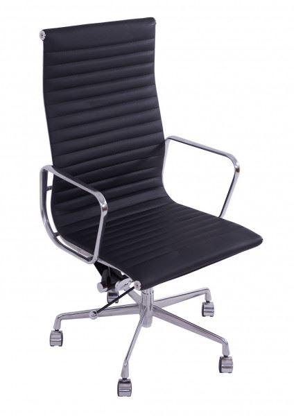 Bürostuhl Aluminium Macro schwarz XL